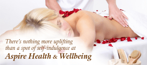 There's nothing more uplifting than a spot of self-indulgence at Aspire Health and Wellbeing.