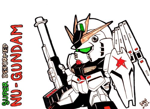 SD Nu-Gundam