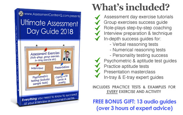 Ultimate Assessment Day  Interview Guide 2018 - The Latest Edition