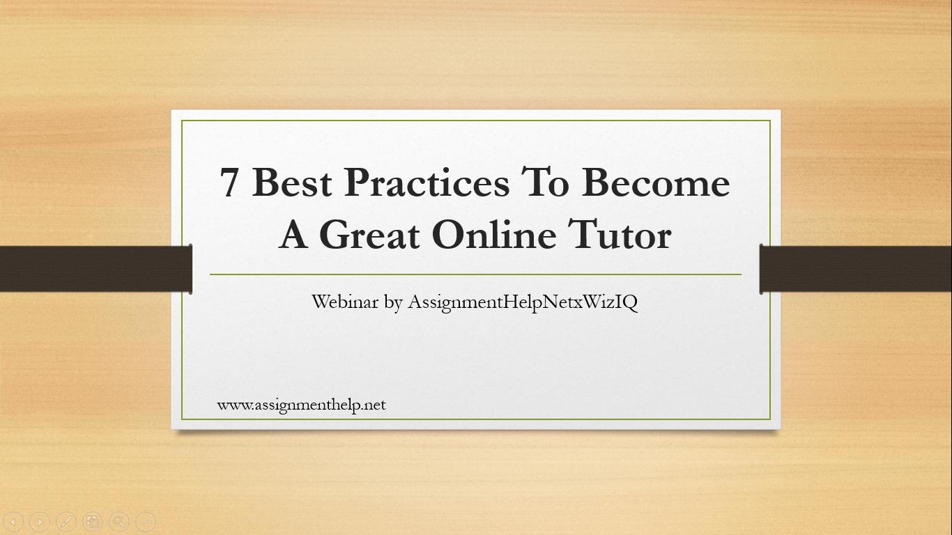 how to become a teenag online tutoe