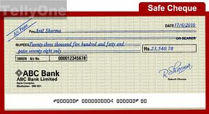 Cheque Assignment Point
