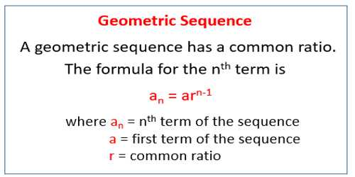 Mathematic - Assignment Point - geometric sequence example