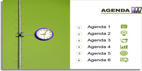 Sample Business Presentation Meeting Agenda Format - Assignment Point