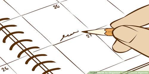 Sample School Agenda Format - Assignment Point