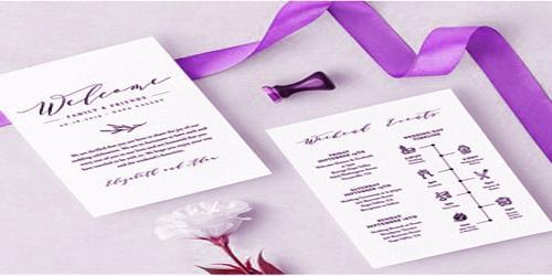 Sample Wedding Agenda Format - Assignment Point