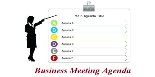 Sample Business Meeting Agenda Format - Assignment Point