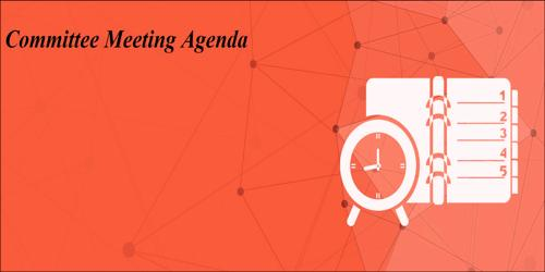 Sample Committee Meeting Agenda Format - Assignment Point