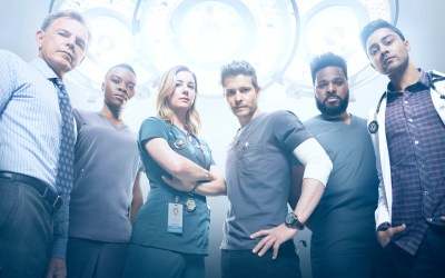 THE RESIDENT Exclusive Interview Malcolm-Jamal Warner Season 2 Assignment X