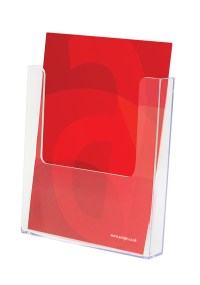 Acrylic Display Stands   Leaflet Holders   Assigns Ltd