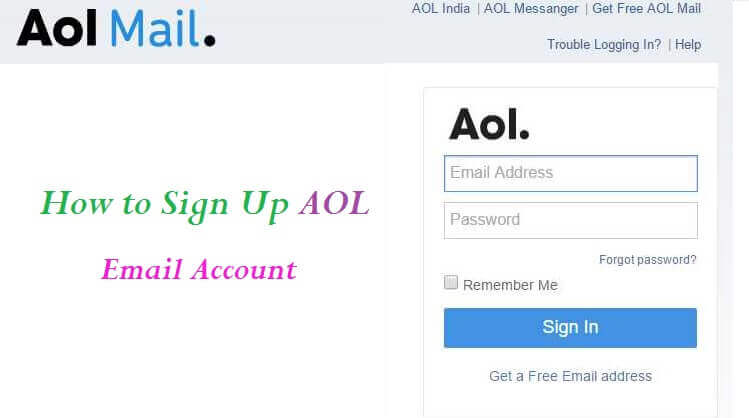 AOL Mail Sign UP- Create a new AOL Email Account