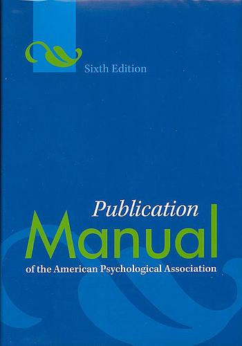 current apa manual