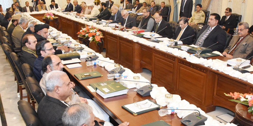 PM Chairs Meeting of the Federal Cabinet