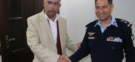 Chief Editor Associated Press Service meets IGP Islamabad
