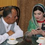 ahsan premee with Mushal Malik
