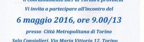 Incontro organizzato dal Coordinamento BdT di Torino e provincia