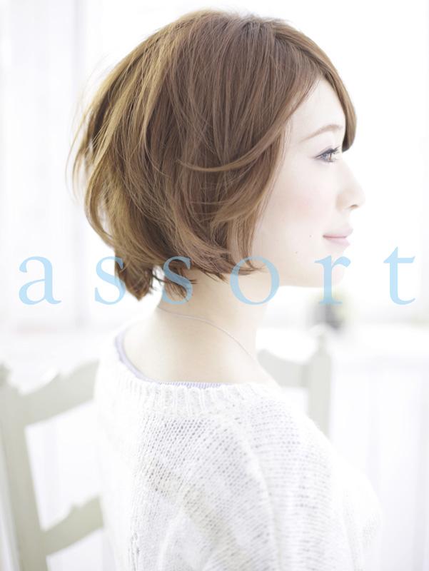 [ASSORT] 『小顔』×『ふんわり』ショートボブ