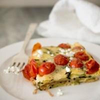 Tomato Zucchini Clafoutis: La Tartine Gourmande