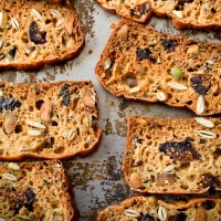 Seeded Rosemary Fig Crackers
