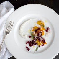 """Laying Down Those Funky Beets"": Beet Salad with Horseradish"