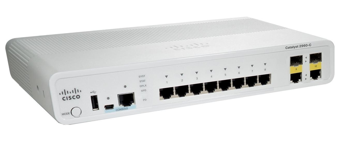 Asterit Networks Asterit Networks - Cisco Catalyst 2960-C Switch,8x