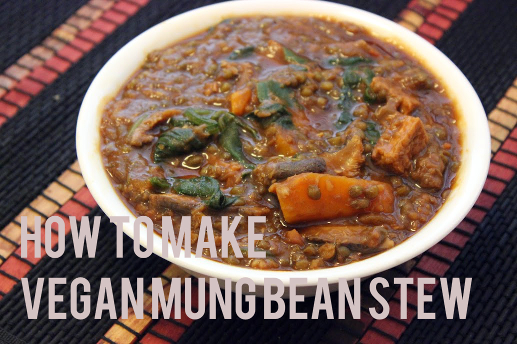 Video Recipe: How to make Mung Bean Stew
