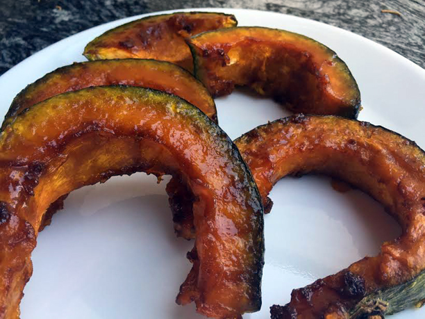 roasted squash on a plate