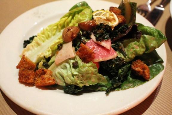 january salad at millenium
