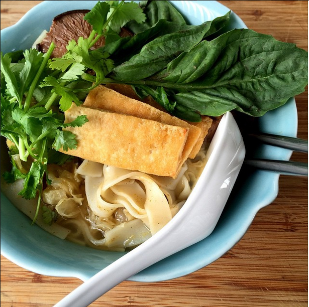 vegan pho soup for rouxbe