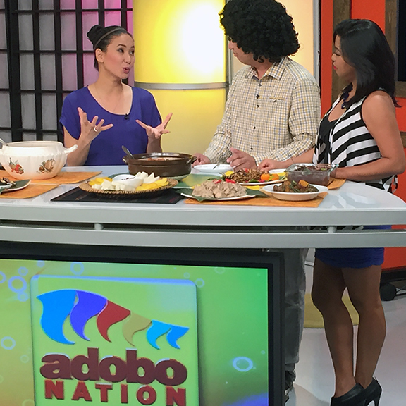Astig Vegan featured on a TV show