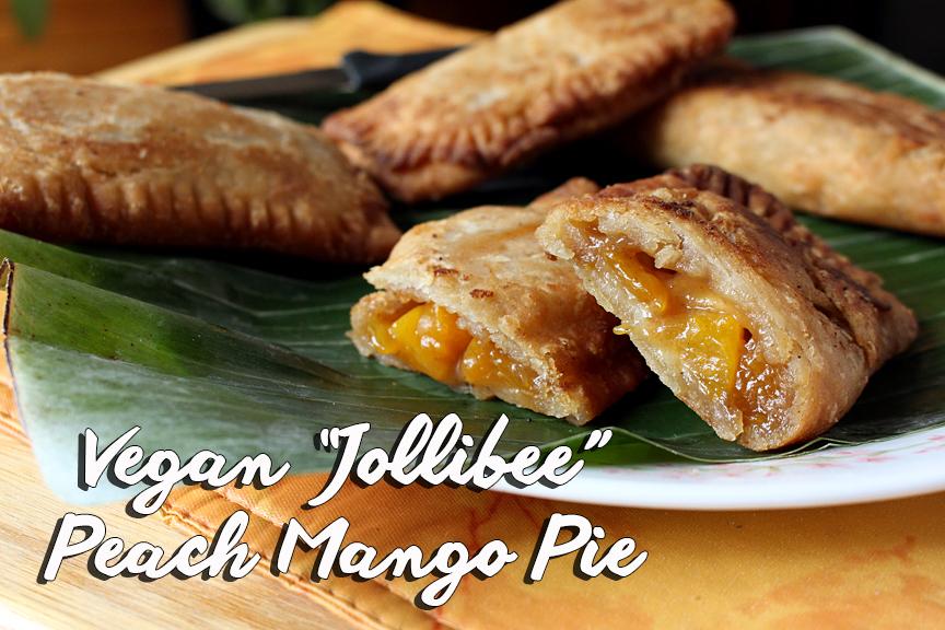 "Vegan ""Jollibee"" Peach Mango Pie"