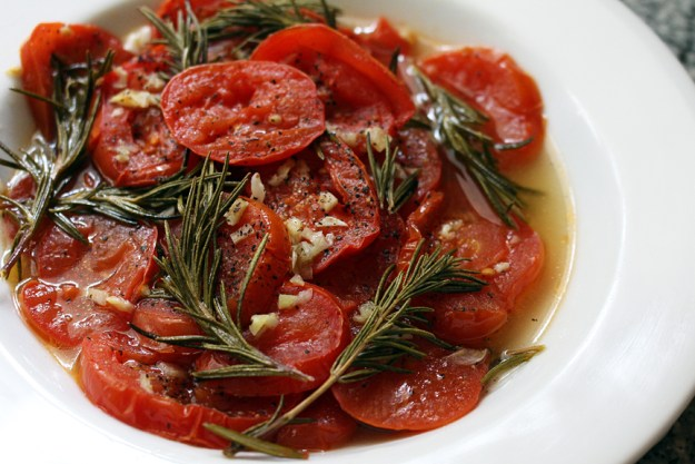roasted tomatoes med side shot