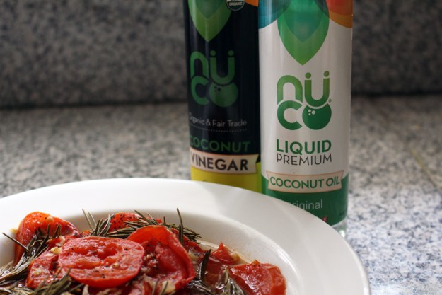 roasted tomatoes with nuco