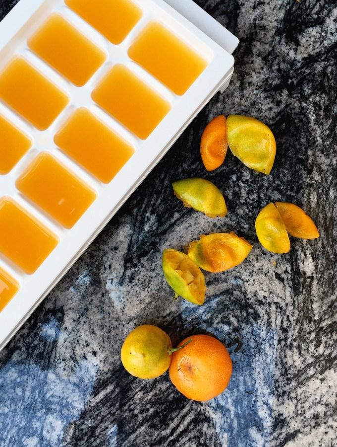 kalamansi in ice cube trays1