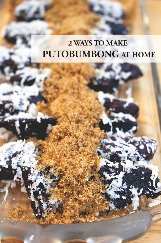 Putobumbong Recipe