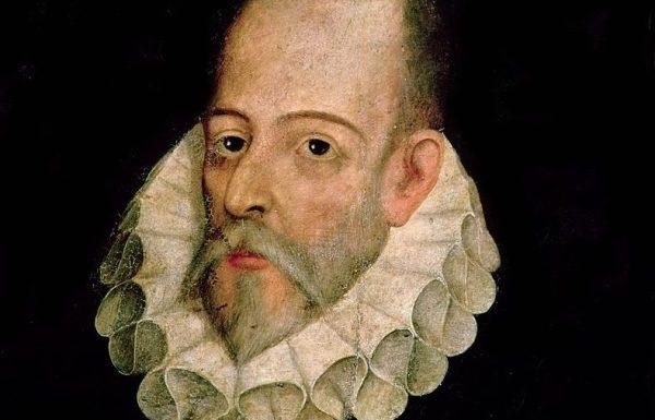 Cuadro de Miguel de Cervantes atribuido a Juan de Jáuregui y Aguilar (circa 1583 - 1641).