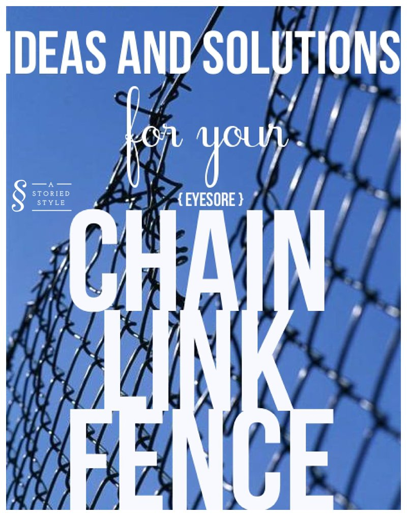What To Do With A Chain Link Fence