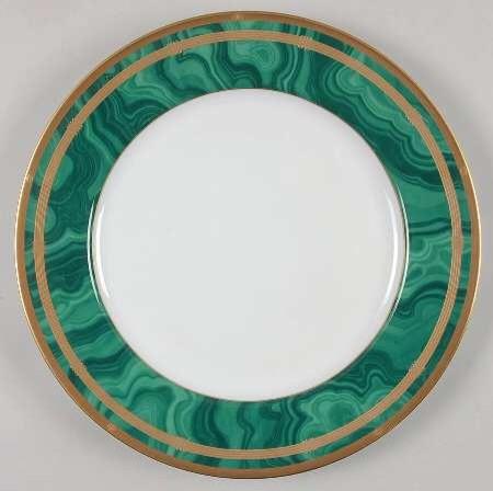 christian dior malachite plates