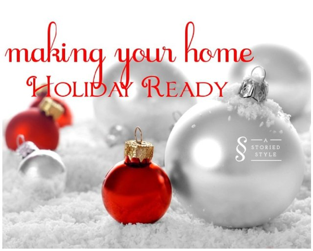 making your home holiday ready