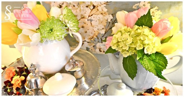 tea party decor