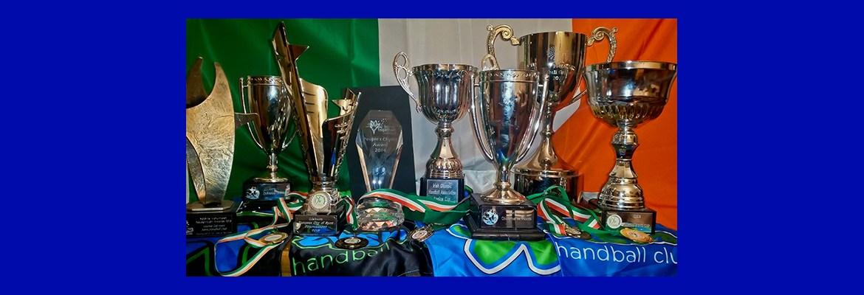 Astra Handball Club Trophies