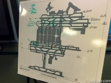 ATL Runway configuration, a 6th runway will be added with 28. Taxiway Victor adds efficiency.