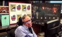 Hawking en de Comic-Con