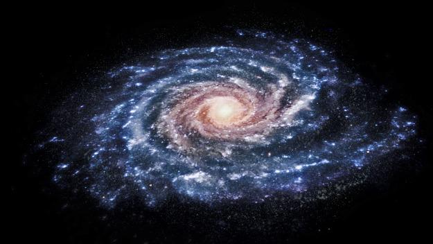 Akash 3d Wallpaper Melkwegstelsel Is In Verleden Flink Opgeschud Astroblogs
