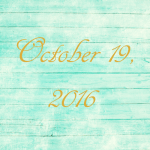 Astrology of Today – October 19, 2016