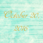 Astrology of Today – October 20, 2016