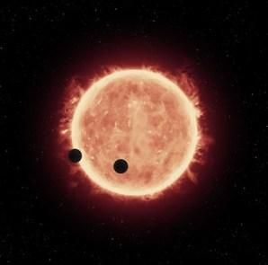 Trappist-1 yıldızındaki iki gezegenin aynı anda geçiş yapması önemli bir araştırmanın başlamasına neden oldu