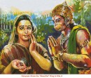 Sri Hanuman giving ring to Sitaji(Sundar Kand)