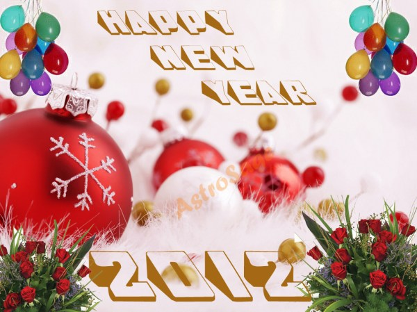 Download Greeting Cards for New Year 2012. 1024 x 768.Animated New Years Greeting Cards