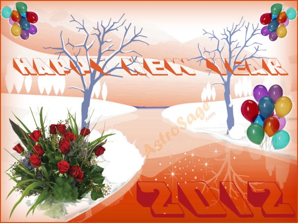 Greeting Cards for New Year 2012. 1024 x 768.Greeting For New Year In Hindi