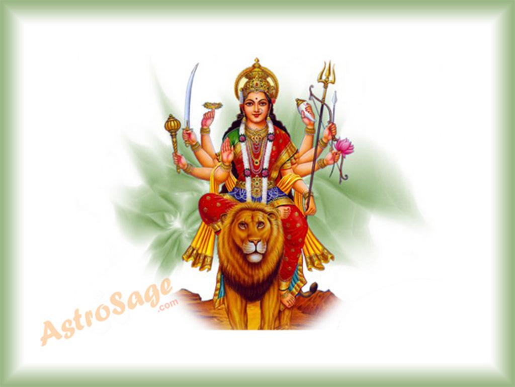 Maa Kali 3d Wallpaper Navratri Greetings
